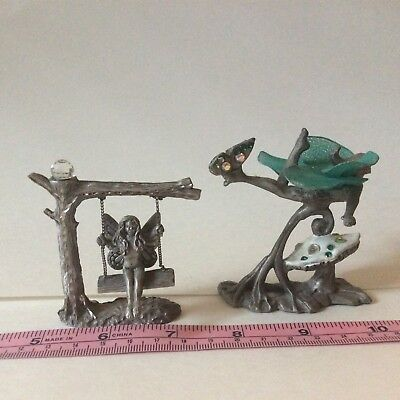Sunglo and Spoontiques jeweled pewter fairies