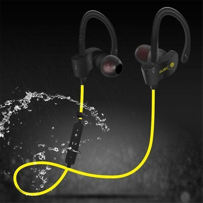 Wireless Bluetooth 4.1 Sweatproof Sport Gym Headset Stereo Headphone Earphone AA