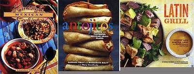 Mexican Latin cookbooks 3bk Antojitos Small Plates Homestyle Mexican Latin Grill