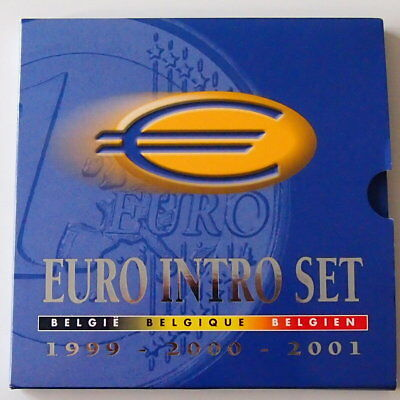 KMS Belgien Euroset 1999-2001 in Blister (13