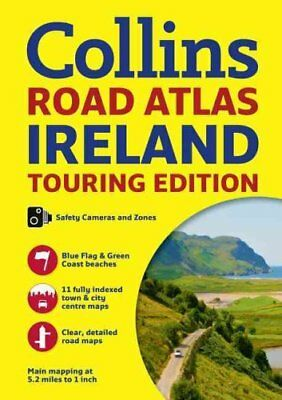 Collins Ireland Road Atlas Touring Edition by Collins Maps 9780008183721