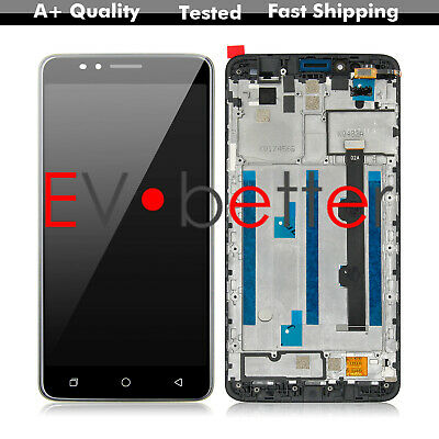 NY For Coolpad T-Mobile Revvl Plus C3701A LCD Display Touch Screen Replace Frame