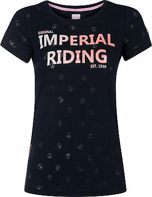 Imperial Riding Damen T-Shirt Festival allover Peace Design 3 Farben