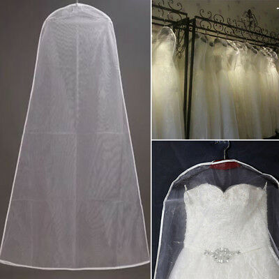 Bridal Gown Wedding Dress Storage Bag Breathable Garment Dust Proof Cover