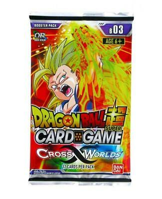 Dragon Ball Super TCG - Cross Worlds Booster Pack - Englisch
