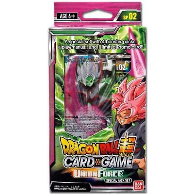 Dragon Ball Super TCG - Union Force Special Pack Set - Englisch