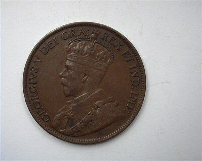 Canada 1913 Large Cent  Uncirculated Br