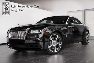 Rolls-Royce Wraith (Certified Pre-Owned) Extended Warranty - Front Ventilated Seats - Front Massage Seats - Seat Piping