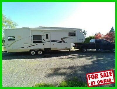 2003 Jayco Designer 30RKS 33.8' Fifth Wheel Fireplace New Electric Brake c60841
