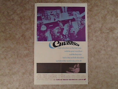 Chubasco 1968 Movie Poster Ann Sothern Susan Strasberg One Sheet