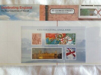 'celebrating England' Stamps-Royal Mail Mint Stamps Collection 2007