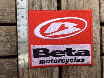 A118 // Ecusson Patch Aufnaher Toppa / Neuf / Beta Motorcycles 7,5*7 Cm