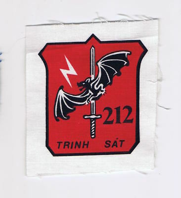 South Vietnamese Printed, Arvn 212Th Infantry Reconnaissance Patch