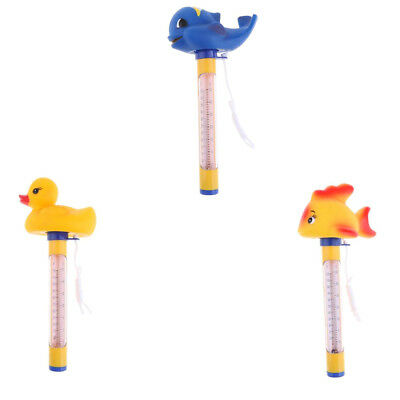3Pcs Durable Floating Swimming Pool Thermometer For Ponds Water Temp.