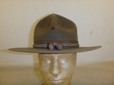 Nice Ww 1 Us Army Officer's Campaign Hat........
