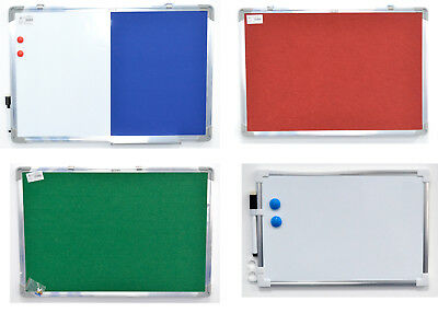 Aluminium Frame Magnetic Notice Board Office Memo School Board With Magnet