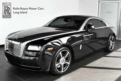Rolls-Royce Wraith (Certified Pre-Owned) Front Massage & Ventilated Seats - Fixed Glass Roof - Canadel Panelling