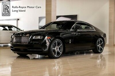 Rolls-Royce Wraith (Certified Pre-Owned) tarlight Headliner - Front Ventilated Seats - Night Vision - Camera System