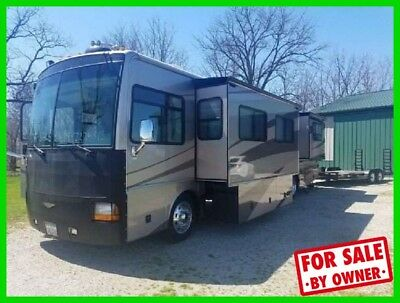 2004 Fleetwood Discovery 39L 39' Class A Diesel Pusher Generator Washer & Dryer