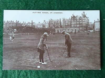 Fife.  Golf at St Andrews. The Putting Course. Dennis & Sons RP.