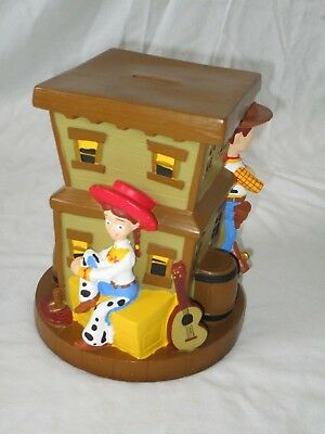 Disneyland Resort/walt Disney World Toy Story Woody Jessie Piggy Bank