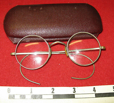 WWII Army Issue Eyeglasses with Case