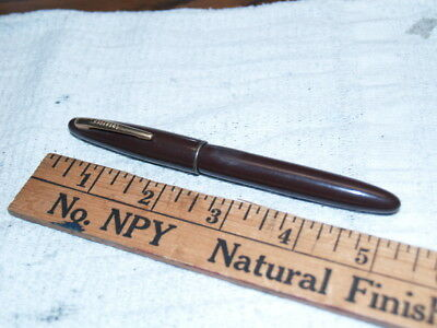 Sheaffer new old stock brown Craftsman ball point pen (K129)
