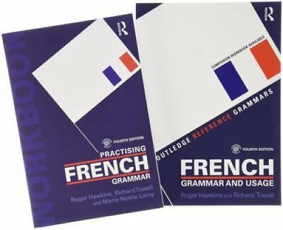 French Grammar and Usage + Practising French Grammar by Roger Hawkins,...