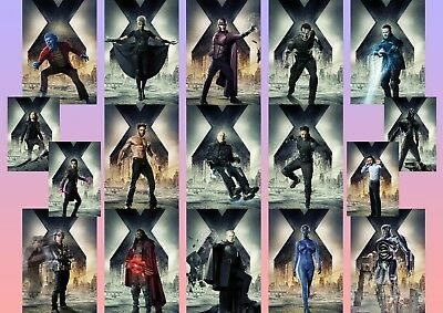 X-MEN Days of Future Past  Wolverine, Mystique, Storm  A5 A4 A3 character Poster