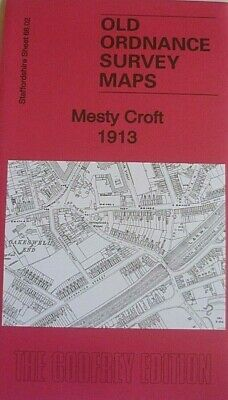 Old Ordnance Survey Maps Mesty Croft 1913 Staffordshire  Godfrey Edition Offer