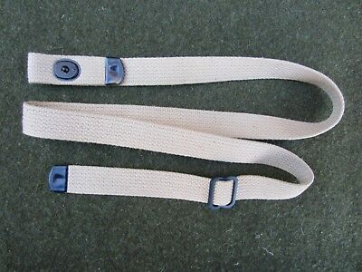 USA MADE Khaki Tan Cotton Canvas M1 Carbine 1 inch Rifle Sling US Military  PMT