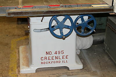 1944 Greenlee 495 Table Saw