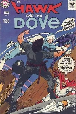 Hawk and Dove (1st Series) #3 1969 VG+ 4.5 Stock Image Low Grade