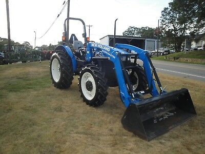 Very Nice New Holland Workmaster 55 4X4 Loader  Tractor 394 Hours