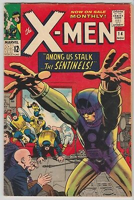 The X-Men #14 (Nov 1965, Marvel) VG-