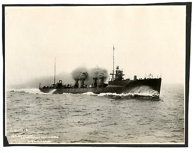 Photo USS Flusser US Navy Smith Class Destroyer Commissioned 1909