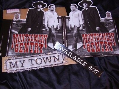 Montgomery Gentry *My Town Hanging Promotional Retail Mobile!