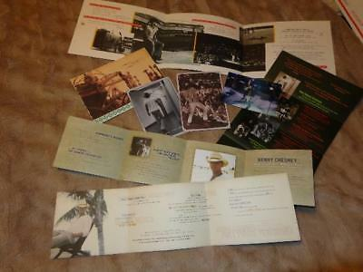 Kenny Chesney *Award Voter Mailers & Postcards*8 Total Pieces Of Kenny Goodies!