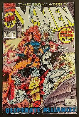 The Uncanny X-Men #281 / (Oct 1991, Marvel) / 1st Cameo App of Bishop. / 9.6 NM+