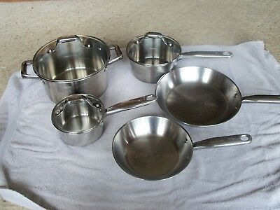 T-Fal Kitchen Cookware set of Pots Pans and Skillets