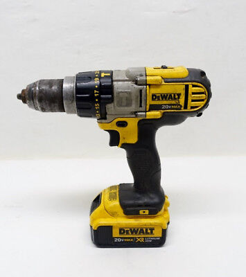 DEWALT DCD985 20V 20 VOLT MAX Lithium Ion 1/2'' 3 Speed Hammer Drill 03/B32668E