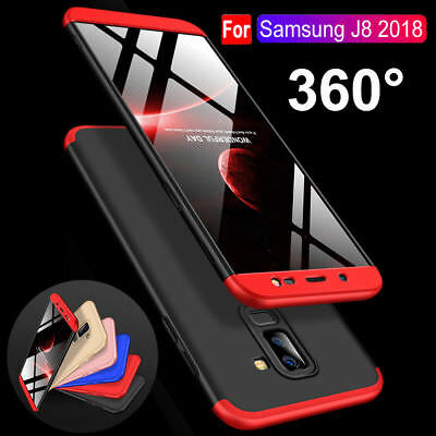 For Samsung Galaxy J4 J6 J8 2018 360° Shockproof Protective Hybrid Case Cover