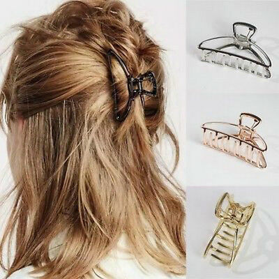 Women Fashion Make Up Tool Hair Accessories Metal Modern Stylish Hair Claw Clips