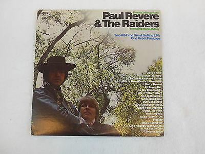 Paul Revere & The Raiders TWO ALL-TIME GREAT SELLING LPS Col.GP12 DBL GF Rare NM