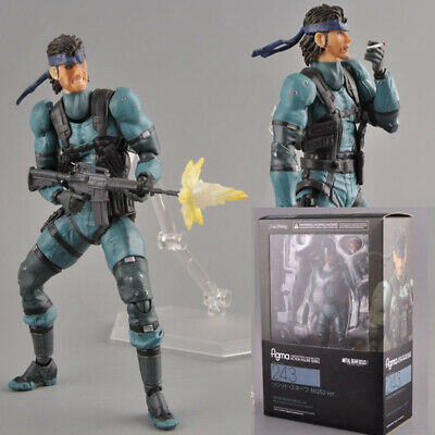Figma no.243 Solid Snake Metal Gear Solid 2 Action Figure Box Gift