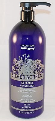 Natural Look Silver Screen Ice Blonde Conditioner 1L with Pump