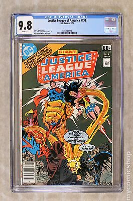 Justice League of America (1st Series) #152 1978 CGC 9.8 1497188018
