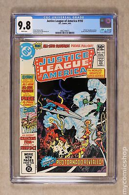 Justice League of America (1st Series) #193 1981 CGC 9.8 0962749015