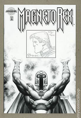 Magneto Rex Marvel Authentix Edition #1-SKETCHED 1999 NM 9.4