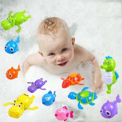 Swimming Turtle Tortoise Pool Toys for Baby Children Kids Bath Bathtub Time SS#